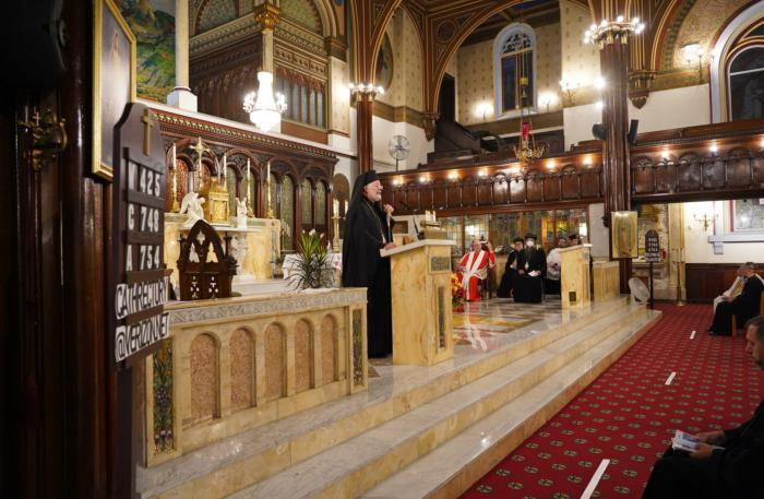 Ecumenical clergy gather in New York to pray for Lebanon