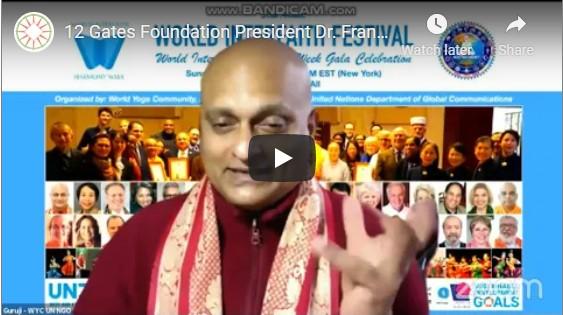 Guru Dileepkumar Completes World Interfaith Harmony Week with Festival and Gala Celebration